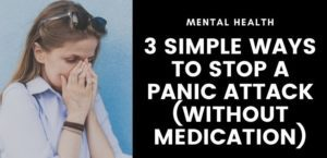 36. Three Ways to Manage Your Panic Attack